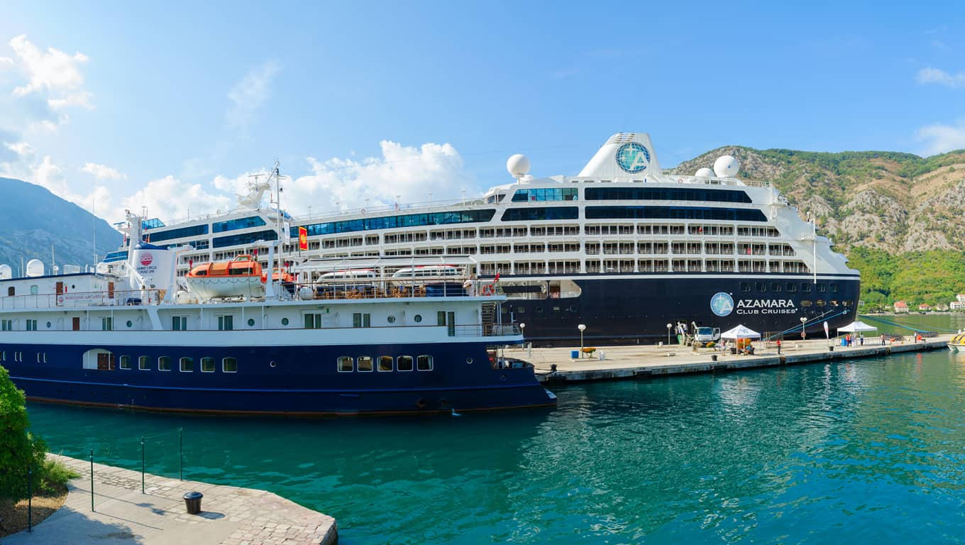 Azamara - Getting On And Off The Ship